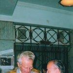 Трубицын А. А. и генерал - майор Ливонцов Евгений Игнатьевич 1997 г. г.Москва, конгресс н. мед.